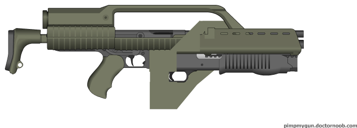 M41A Pulse Rifle by SWAT-Strachan