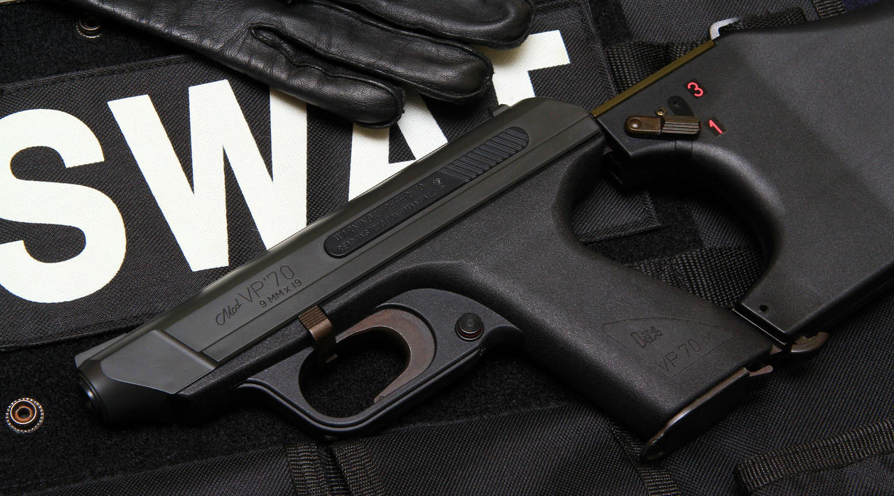 Heckler and Koch VP70 pistol by SWAT-Strachan