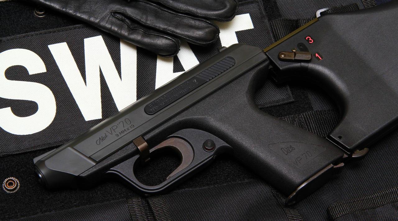 Heckler and Koch VP70 pistol by SWAT-Strachan