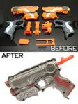 Customised Nerf Firestrike