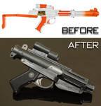 Customised Nerf Stormtrooper Blaster