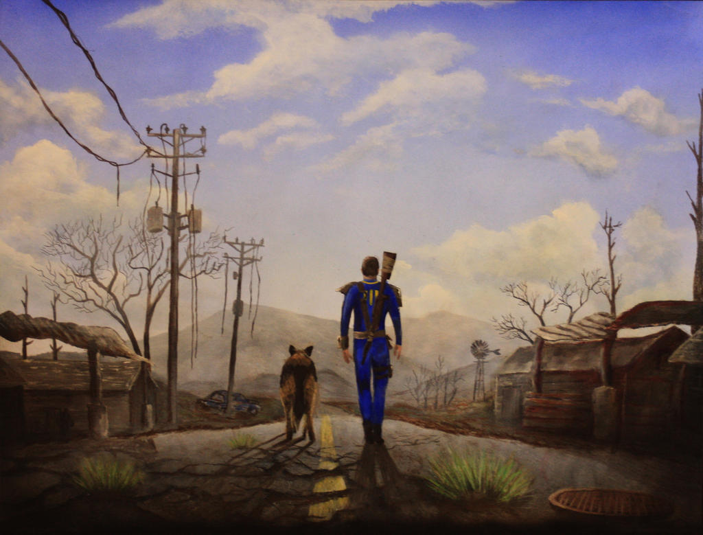 Fallout 4 by Tausend-Nadeln