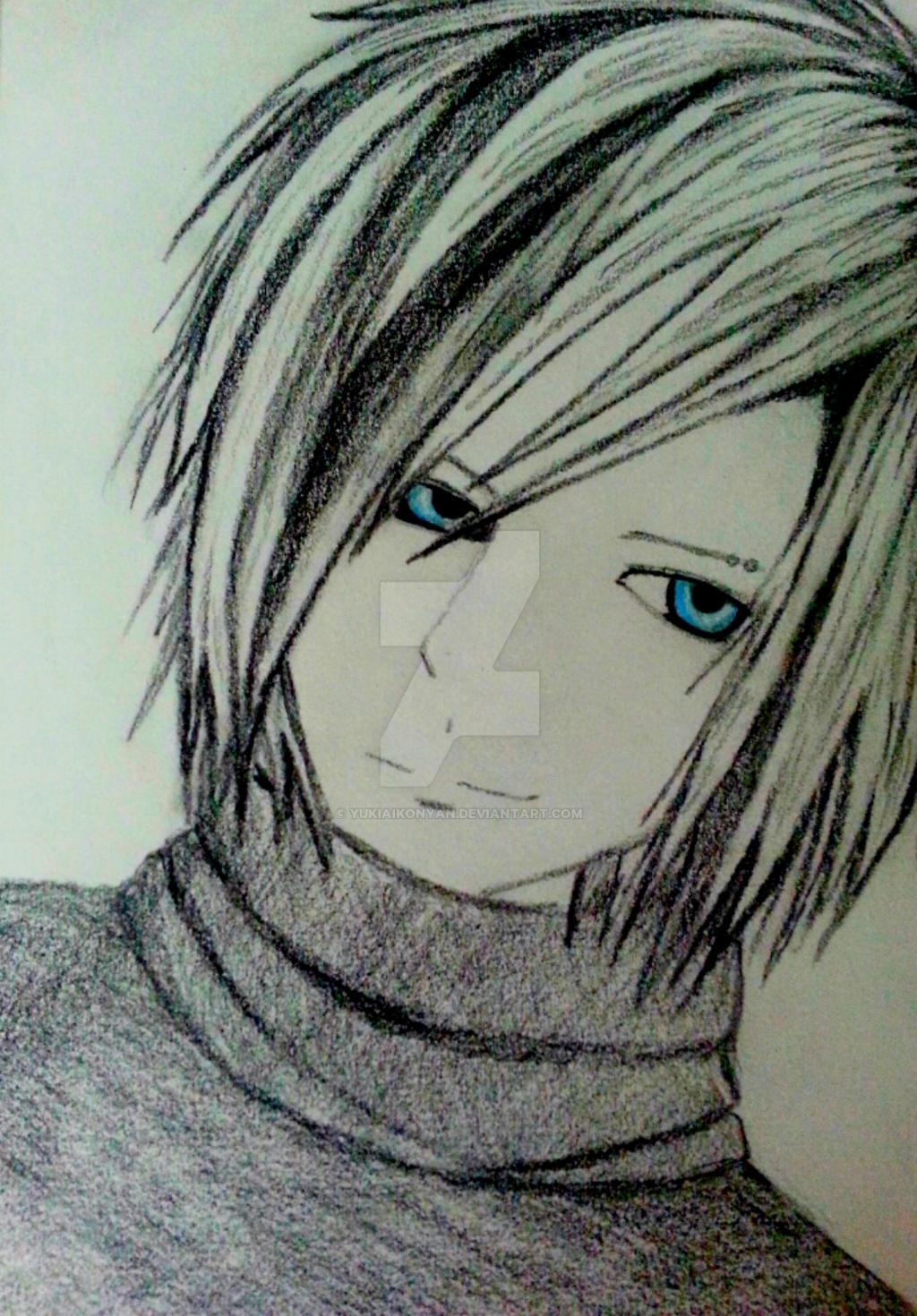 emo anime boy by yukiaikonyan on deviantart