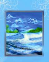 ocean by Rheasan