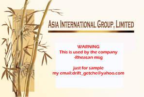 company logo by Rheasan