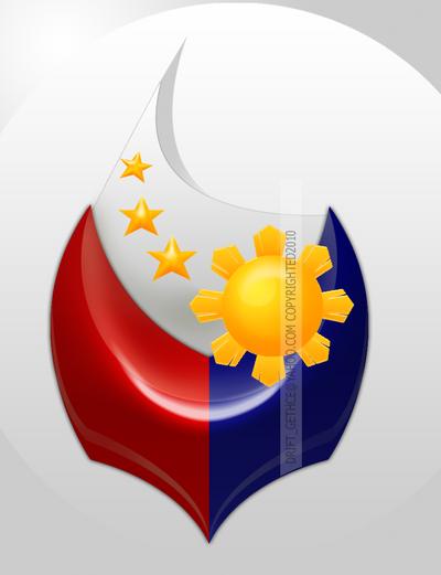 Philippine FLAG logo01 by Rheasan on DeviantArt  Philippine FLAG...