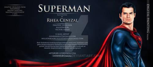Superman By Rhea Cenizal