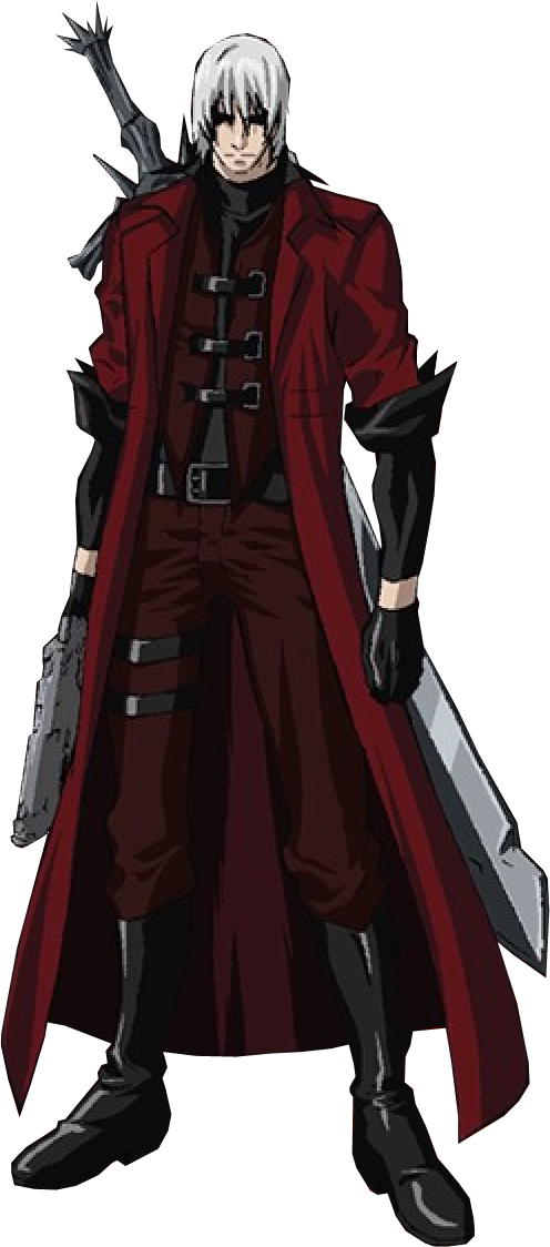 Dante Anime Devil May Cry By Fubuki Arts On Deviantart