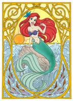Ariel the little Mermaid by Ayuukimi