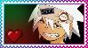 Soul Eater Evans stamp by leehalea