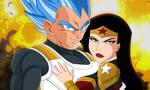 Vegeta and Wonder Woman by SaiyanGoddess