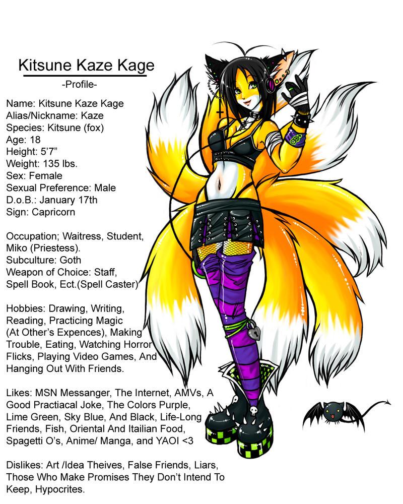 Kitsune Kaze Kage - Profile by Kitsune-Kaze-Kage