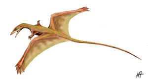 Sharovipteryx by NTamura
