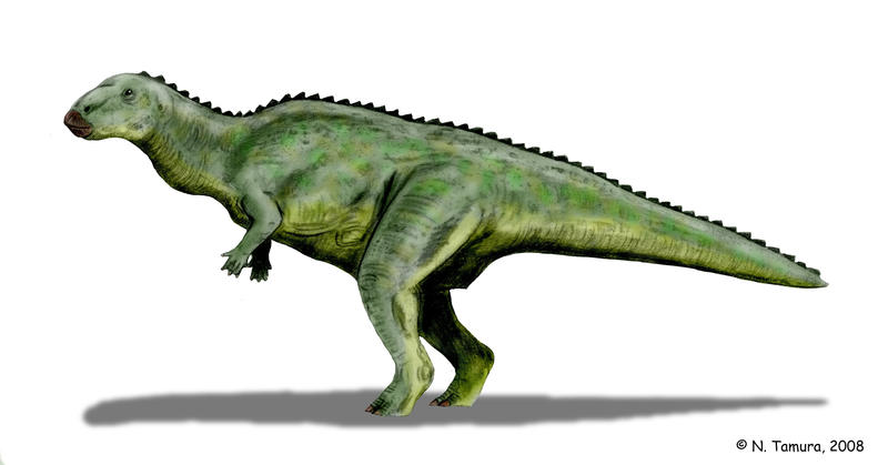 Lanzhousaurus by NTamura