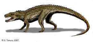 Postosuchus by NTamura