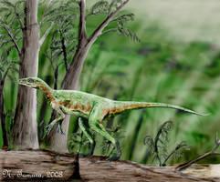 Eoraptor by NTamura