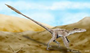 Velociraptor by NTamura