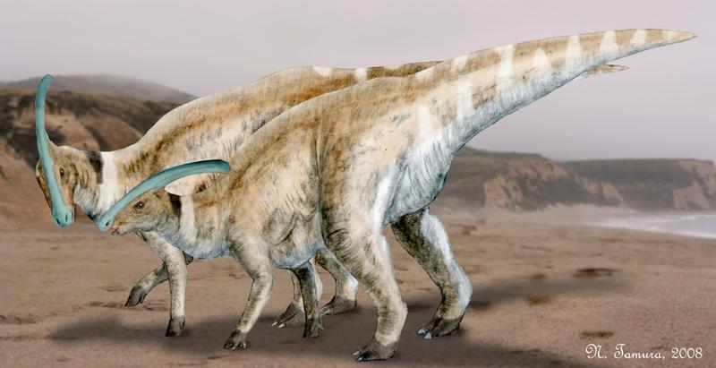 Parasaurolophus by NTamura
