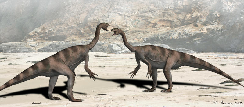 Plateosaurus by NTamura