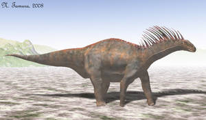 Amargasaurus by NTamura