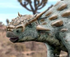 Minotaurasaurus by NTamura