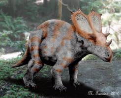 Utahceratops II by NTamura
