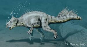 Koreaceratops by NTamura