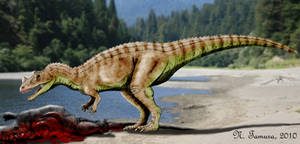 Ceratosaurus by NTamura
