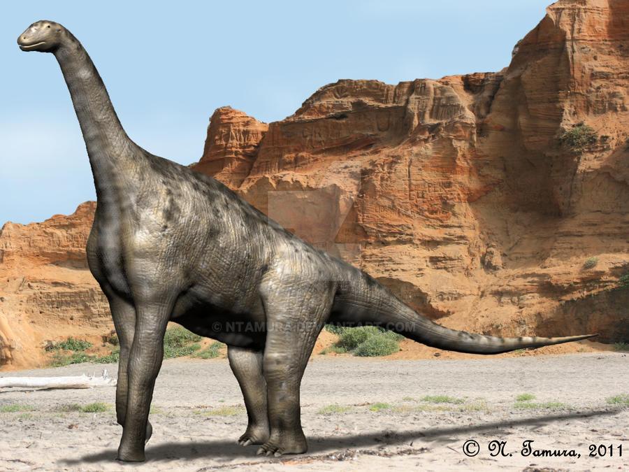 Atlasaurus by NTamura