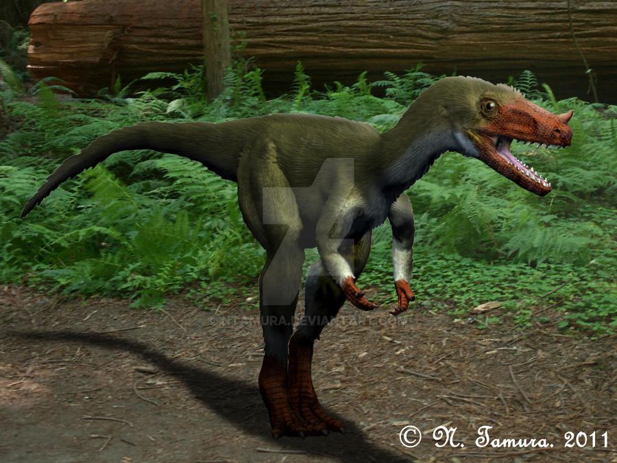 Proceratosaurus by NTamura