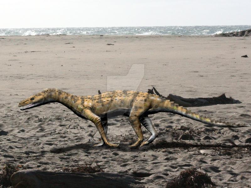 Turfanosuchus by NTamura