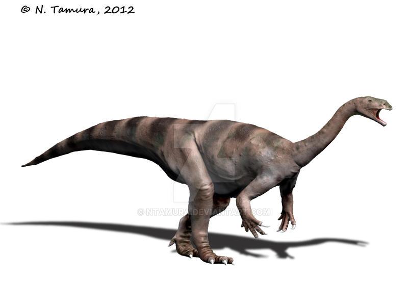 Plateosaurus II by NTamura