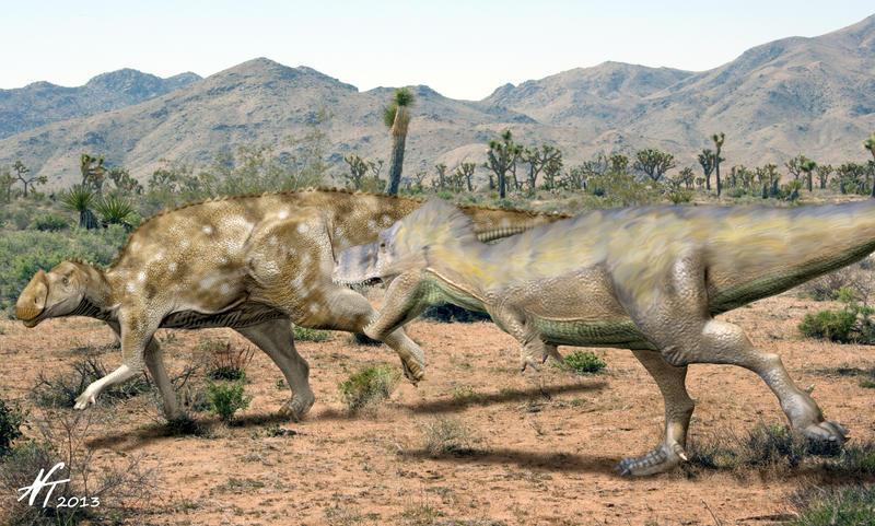 Cretaceous Kazakhstan by NTamura