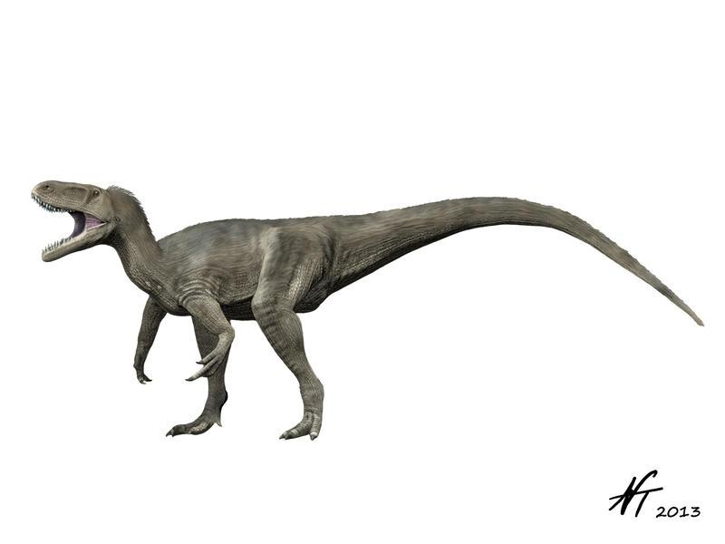 Torvosaurus by NTamura