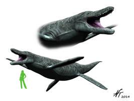 Kronosaurus by NTamura