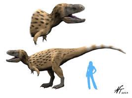 Tarbosaurus by NTamura
