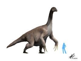 Therizinosaurus by NTamura