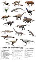 2014 in Paleontology by NTamura