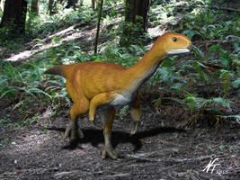 Chilesaurus by NTamura