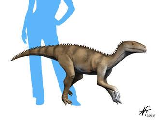 Sacisaurus by NTamura
