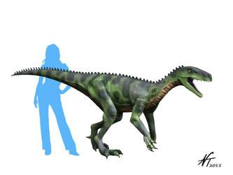 Herrerasaurus by NTamura