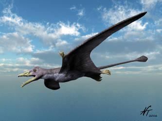 Eudimorphodon by NTamura
