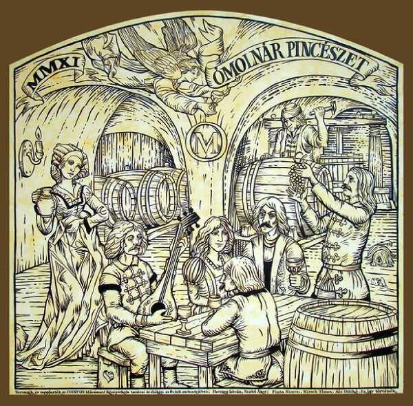 Illustration for a Cellar-Tavern 1 by Simonus18