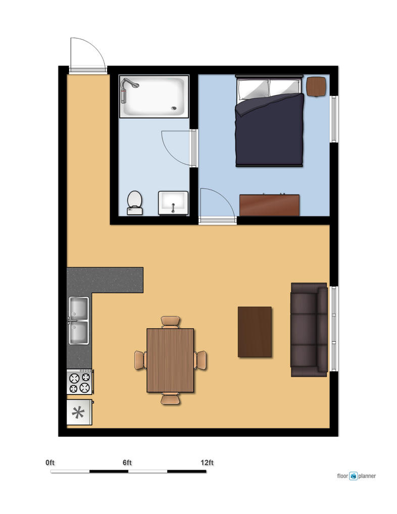 Naruto 39 s apartment layout by ramrikai on deviantart for Apartment layouts design