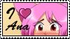 I love Ana by GigiCatGirl