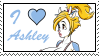 I love Ashley by GigiCatGirl