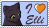 I love Elli by GigiCatGirl