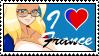 I love France (historine) by GigiCatGirl