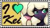 I love Kei by GigiCatGirl