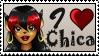 I love Chica by GigiCatGirl